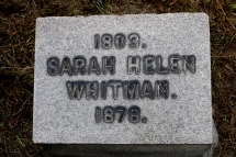 Helen's Grave at The North Burial Ground.