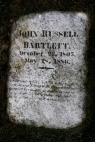 The grave of John Russell Bartlett located in plot 191 at the Swan Point Cemetery.