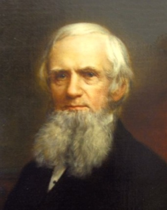 Portrait of John Russell Bartlett.