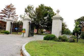The Gates of The North Burial Ground.