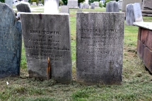 The Graves of Helen's Parents, Nicholas and Anna Power, The North Burial Ground.